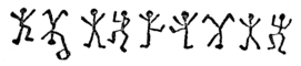 Picture of a few dancing men
